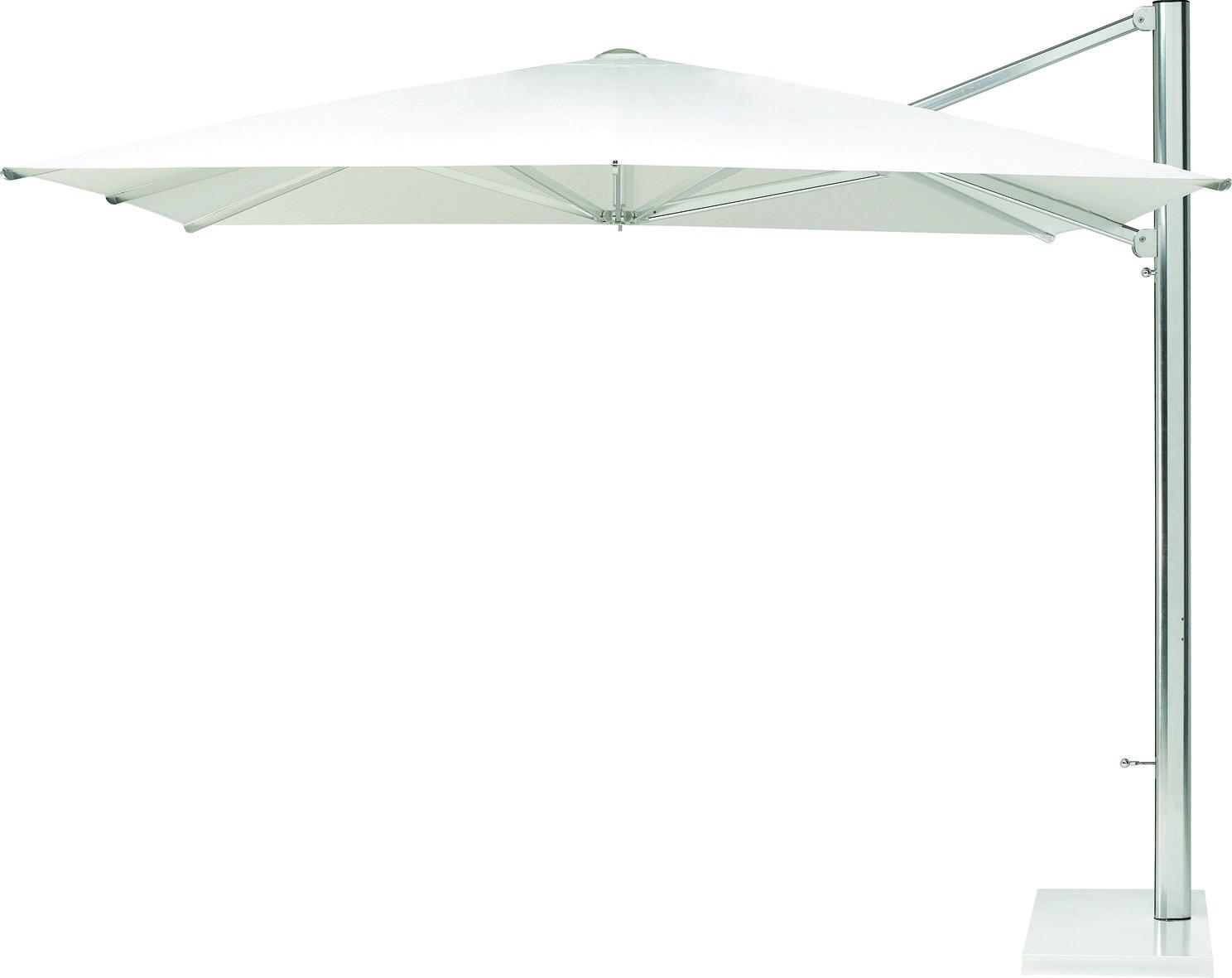 parasol d port shade de emu blanc 3x3. Black Bedroom Furniture Sets. Home Design Ideas