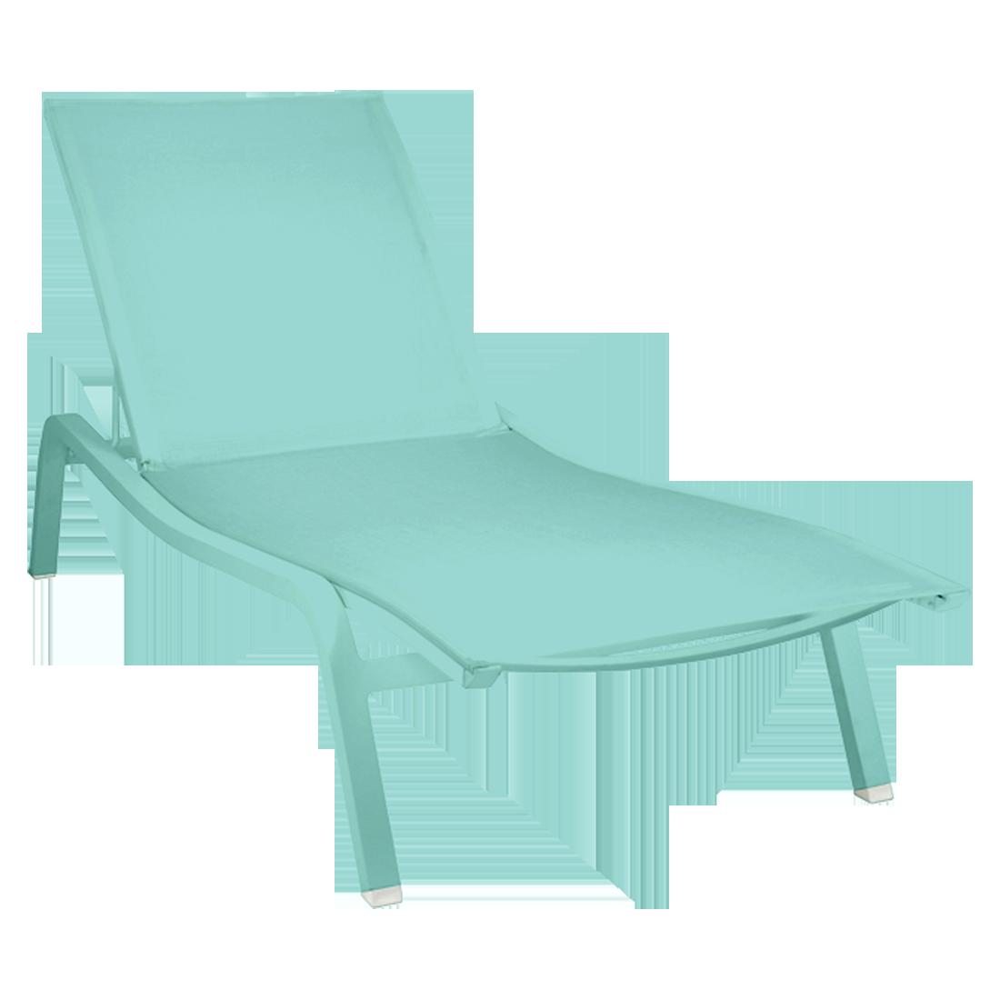 bain de soleil aliz xs de fermob bleu lagune. Black Bedroom Furniture Sets. Home Design Ideas