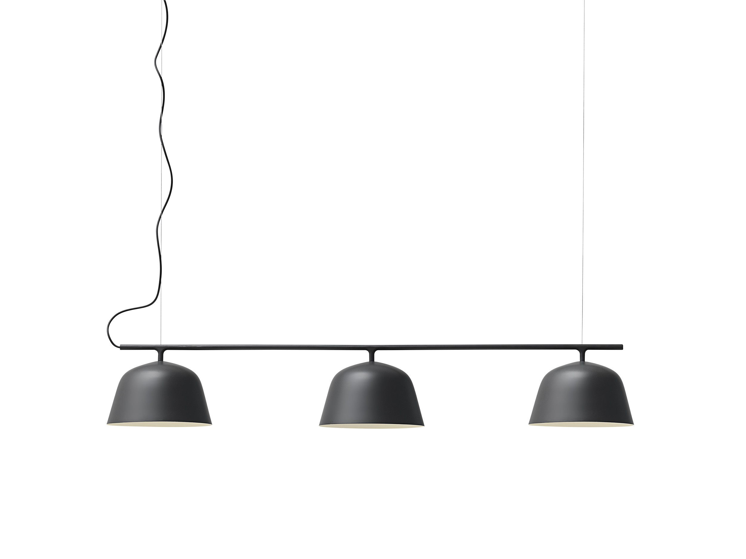 suspension ambit rail de muuto 3 coloris. Black Bedroom Furniture Sets. Home Design Ideas