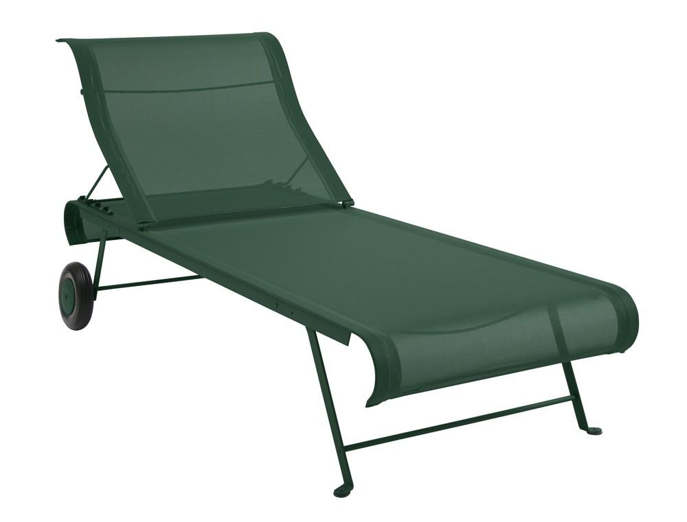 bain de soleil pliant dune de fermob c dre. Black Bedroom Furniture Sets. Home Design Ideas
