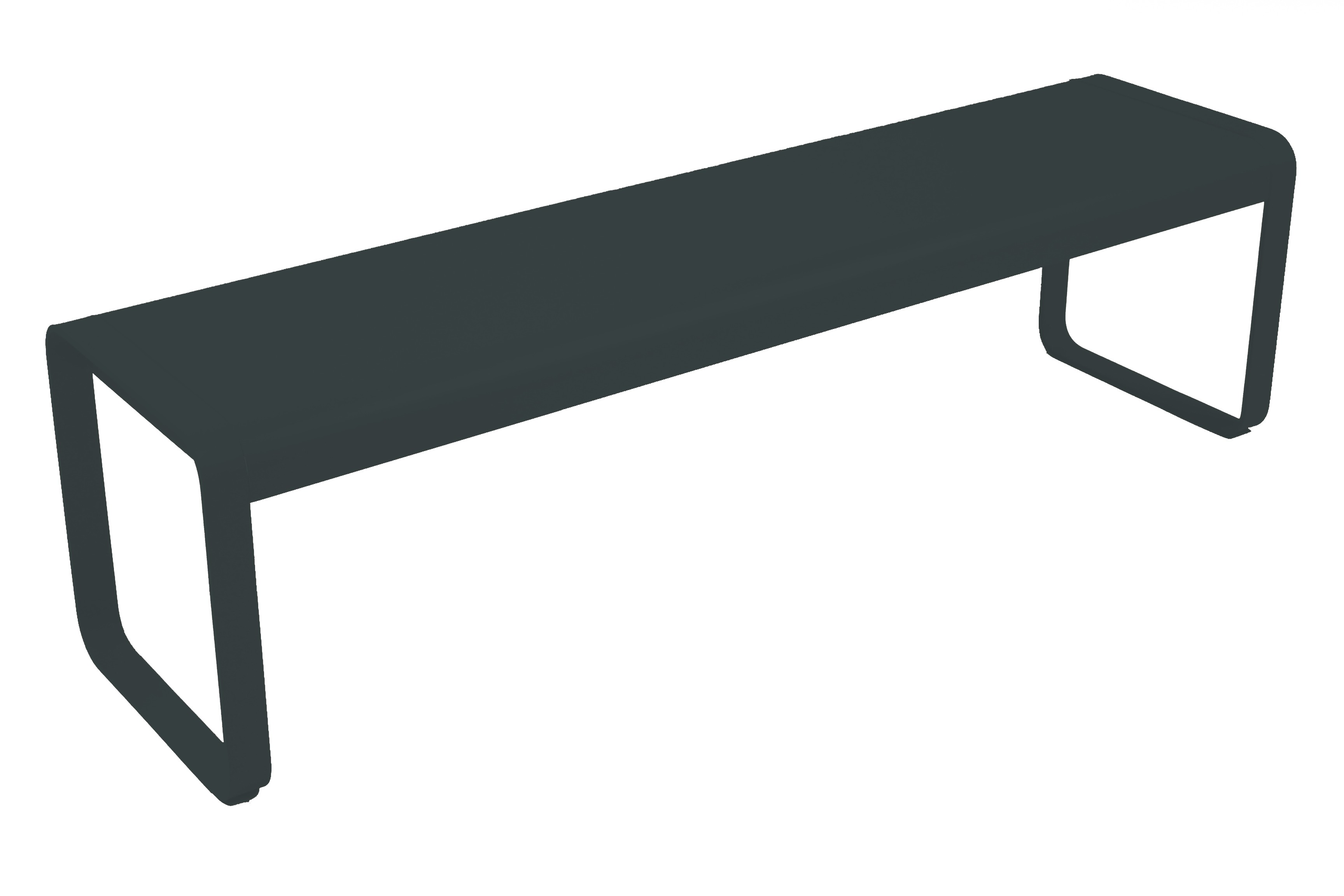 banc bellevie de fermob gris orage. Black Bedroom Furniture Sets. Home Design Ideas