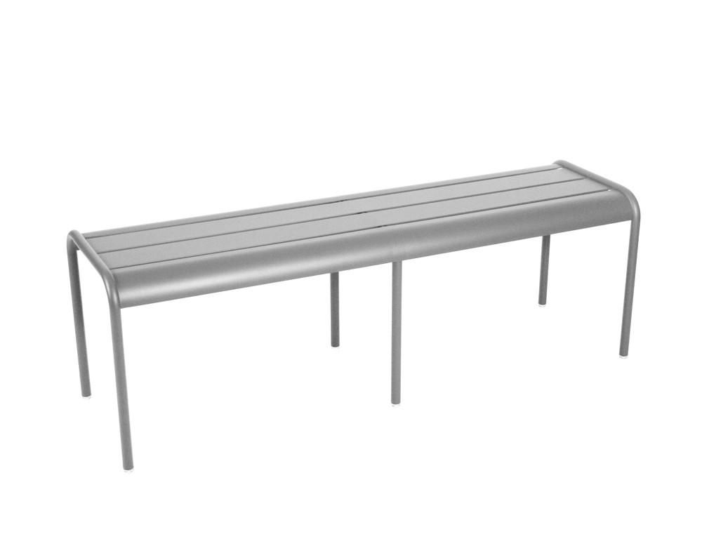banc gris. Black Bedroom Furniture Sets. Home Design Ideas