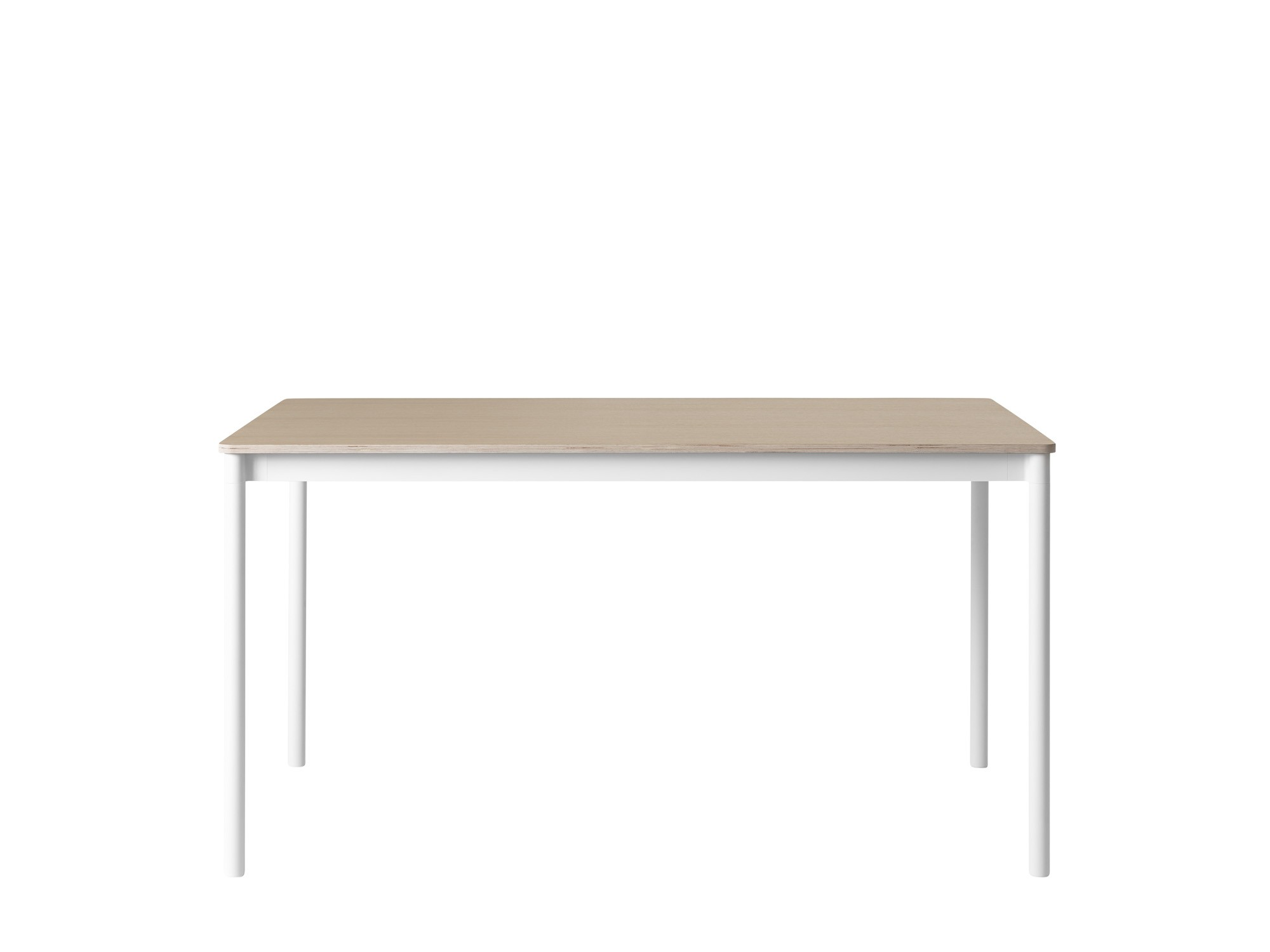 table base de muuto 140x80 vernis contreplaqu white oak. Black Bedroom Furniture Sets. Home Design Ideas