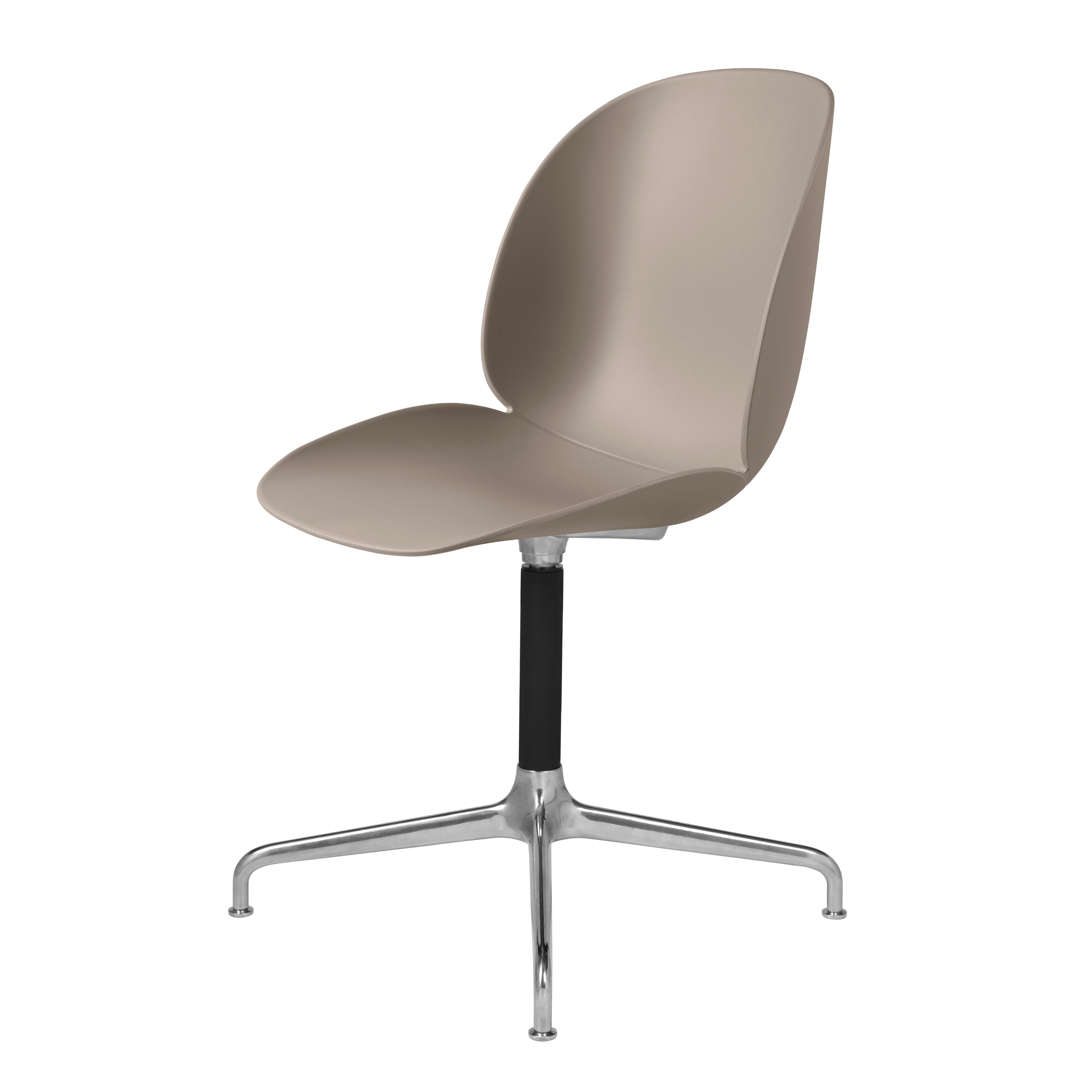 chaise de bureau beetle unupholstered casted swivel base. Black Bedroom Furniture Sets. Home Design Ideas