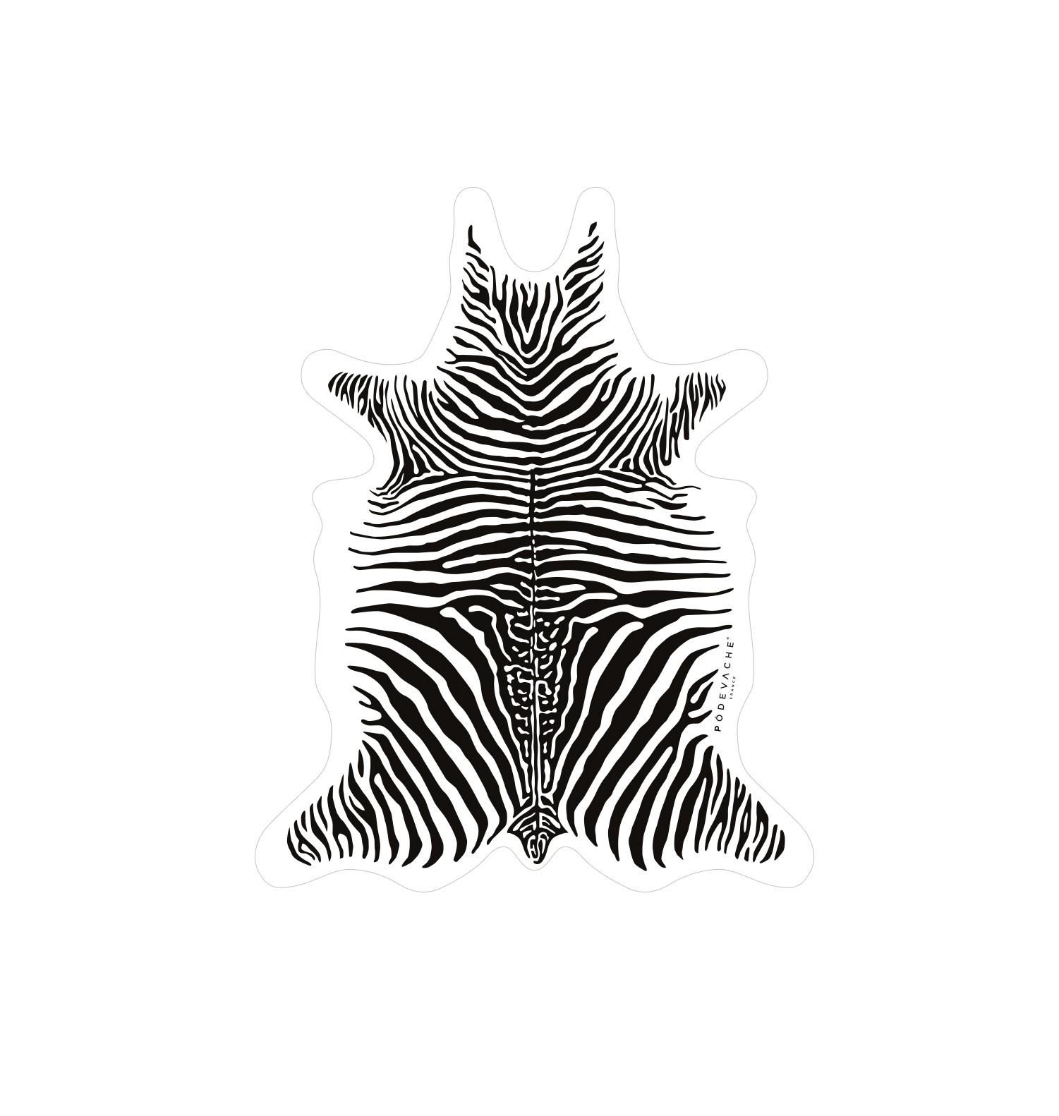 Deco de table zebre for Deco zebre