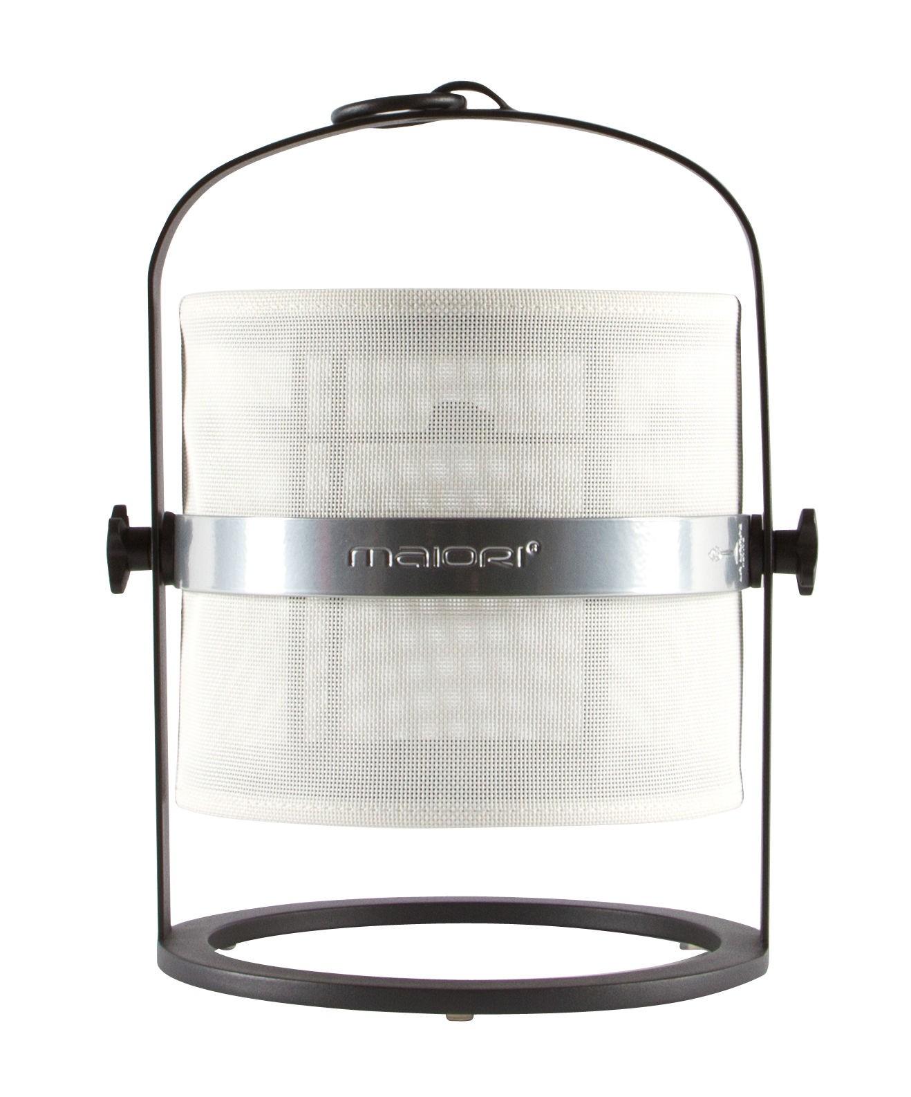 la lampe petite de maiori blanc structure noir. Black Bedroom Furniture Sets. Home Design Ideas