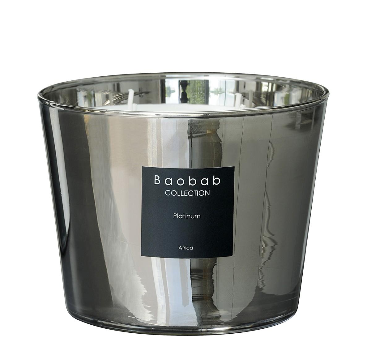 Bougie Platinum De Baobab Collection 4 Tailles