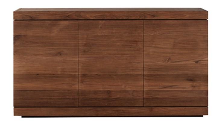 buffet teck burger d 39 ethnicraft 3 portes. Black Bedroom Furniture Sets. Home Design Ideas