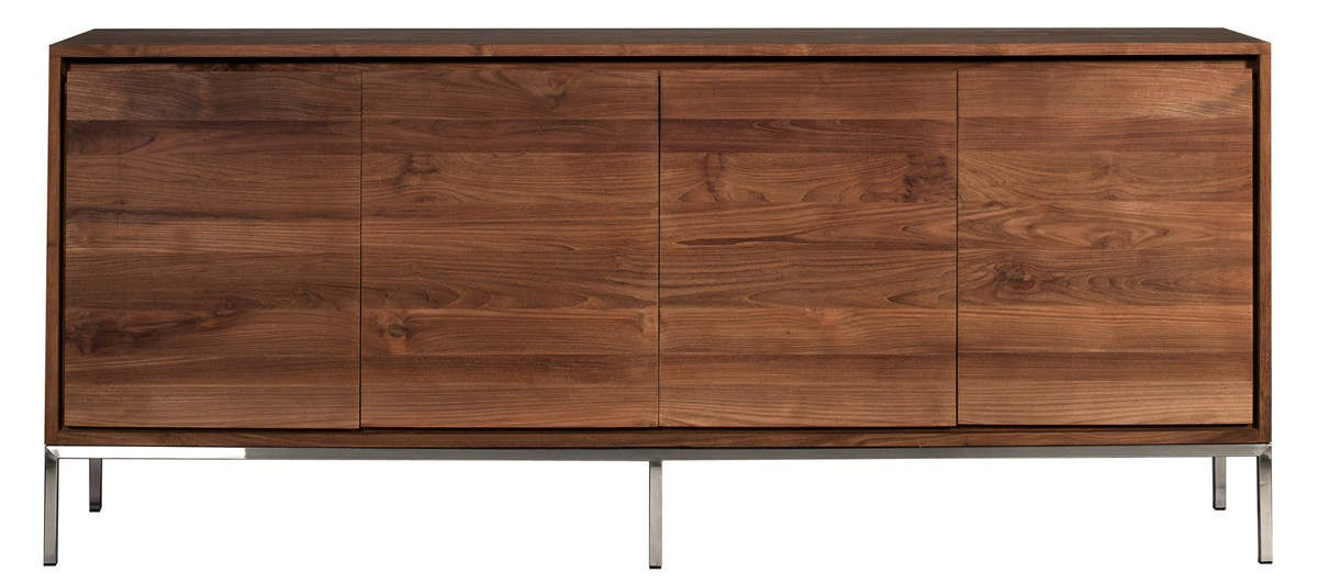 buffet teck essential d 39 ethnicraft 4 portes. Black Bedroom Furniture Sets. Home Design Ideas