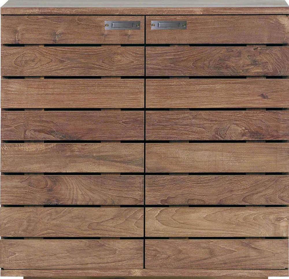 Buffet TECK HORIZON d\'Ethnicraft , 2 portes / 1 tiroir intérieur