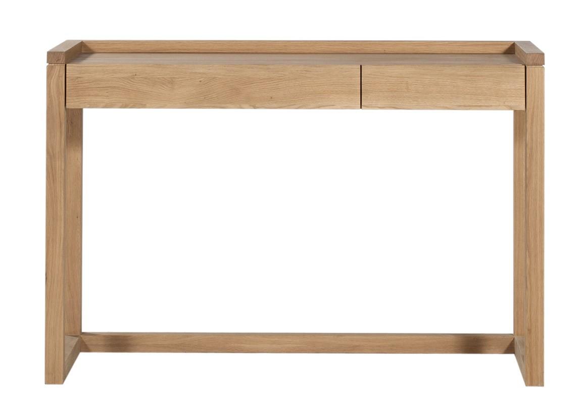 bureau frame en ch ne d 39 ethnicraft. Black Bedroom Furniture Sets. Home Design Ideas