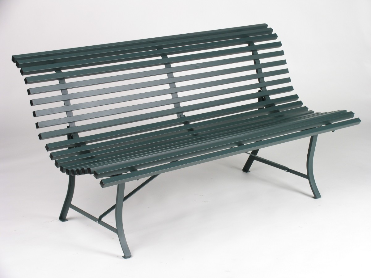 banc louisiane 150 de fermob c dre. Black Bedroom Furniture Sets. Home Design Ideas