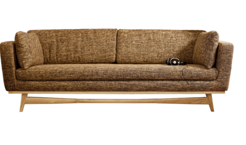 canape 210 de red edition tissu chin beige fonc. Black Bedroom Furniture Sets. Home Design Ideas
