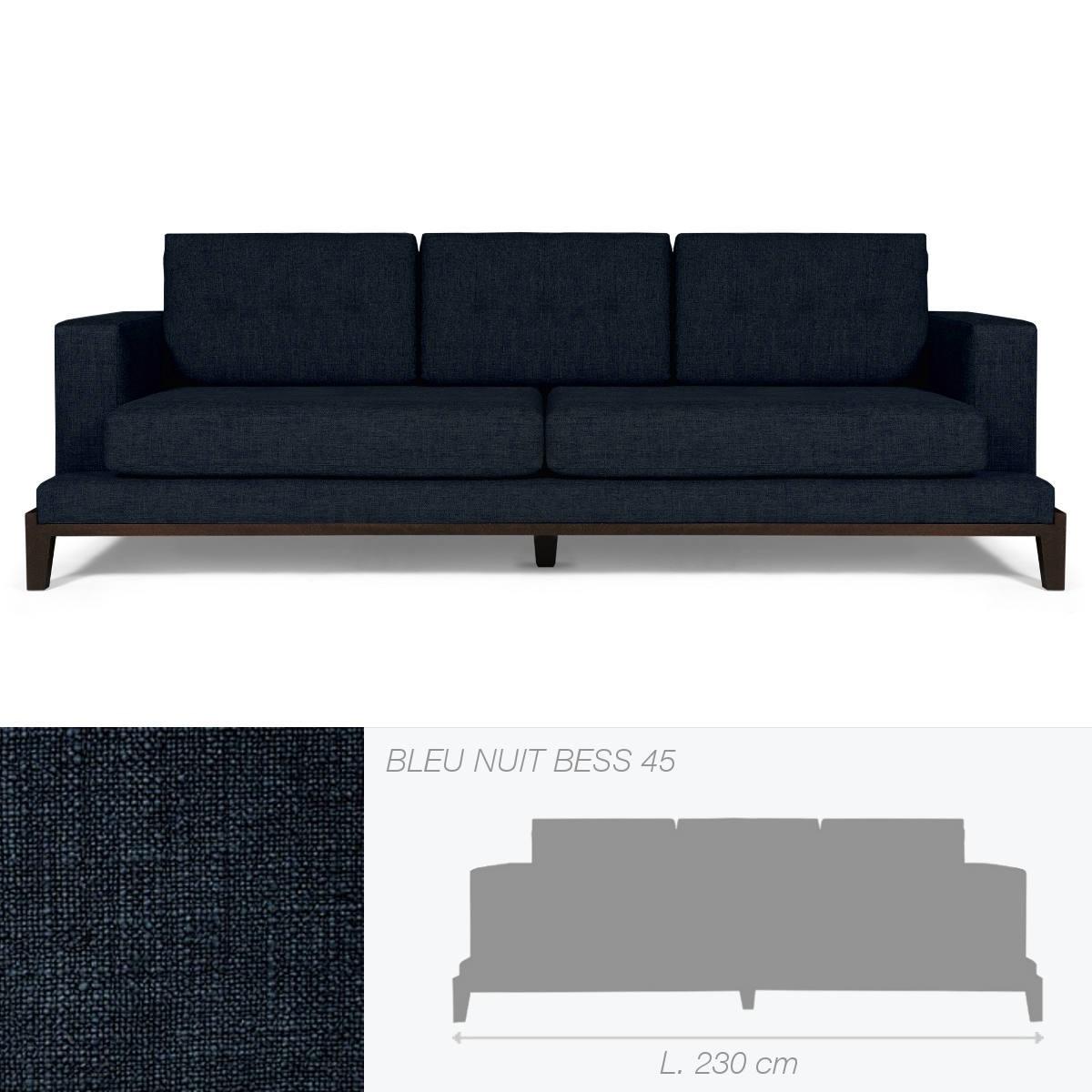 canap oakland de marie 39 s corner bleu nuit. Black Bedroom Furniture Sets. Home Design Ideas