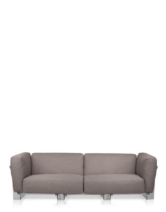 canap pop duo de kartell gris. Black Bedroom Furniture Sets. Home Design Ideas