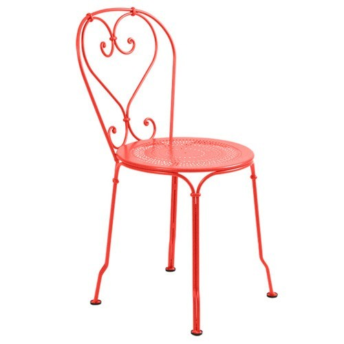Chaise 1900 de fermob capucine - Chaises fermob soldes ...