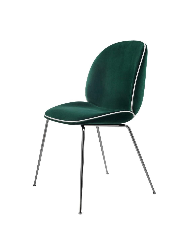 chaise avec pied metal noir. Black Bedroom Furniture Sets. Home Design Ideas