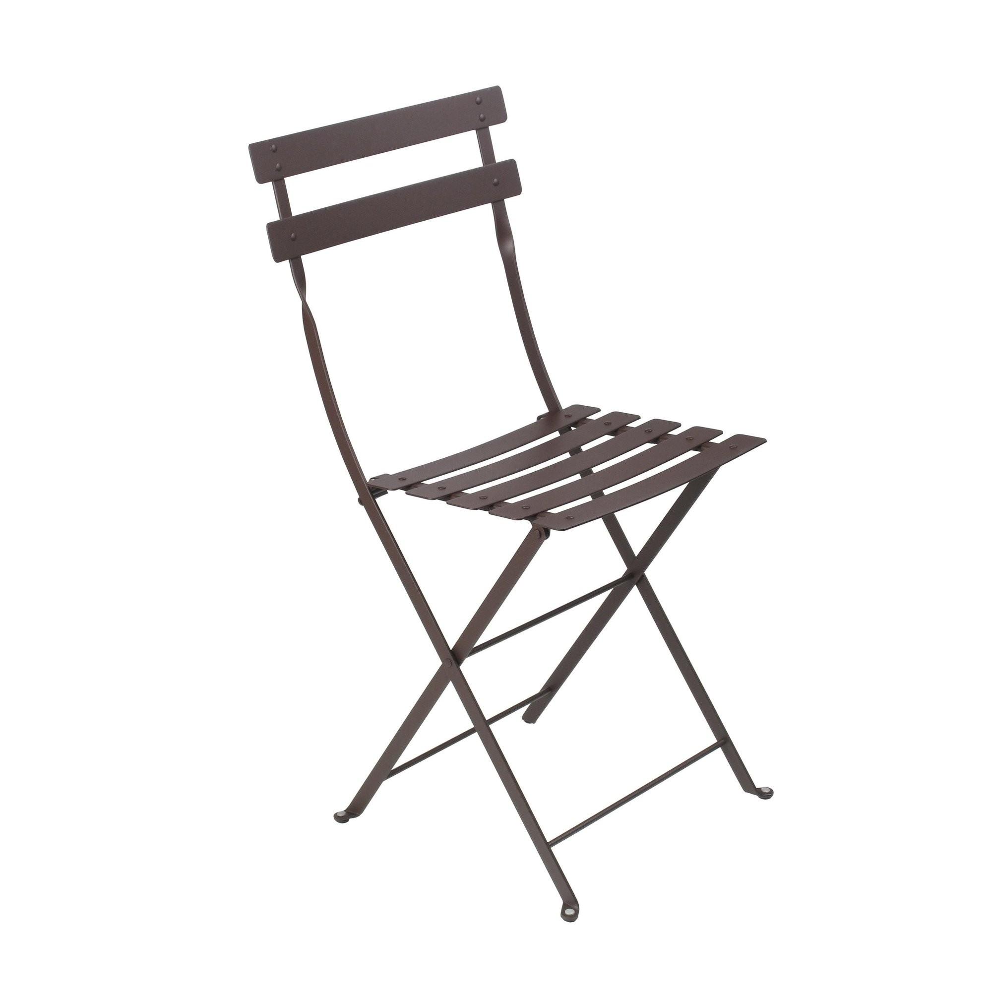 chaise bistro m tal de fermob rouille. Black Bedroom Furniture Sets. Home Design Ideas