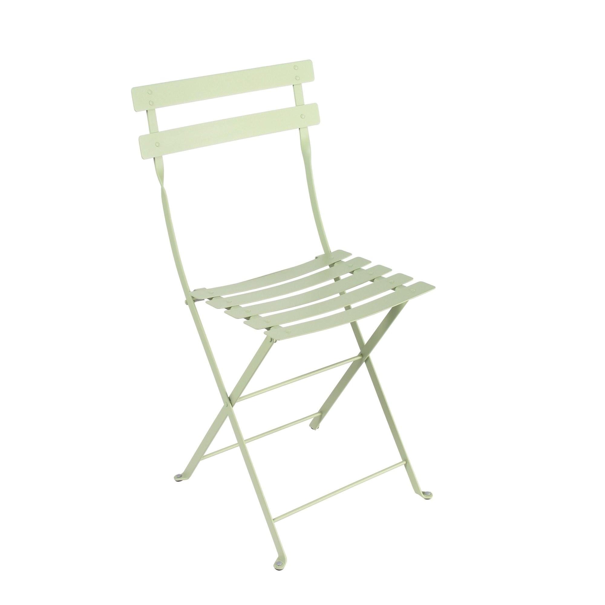 chaise bistro m tal de fermob tilleul. Black Bedroom Furniture Sets. Home Design Ideas