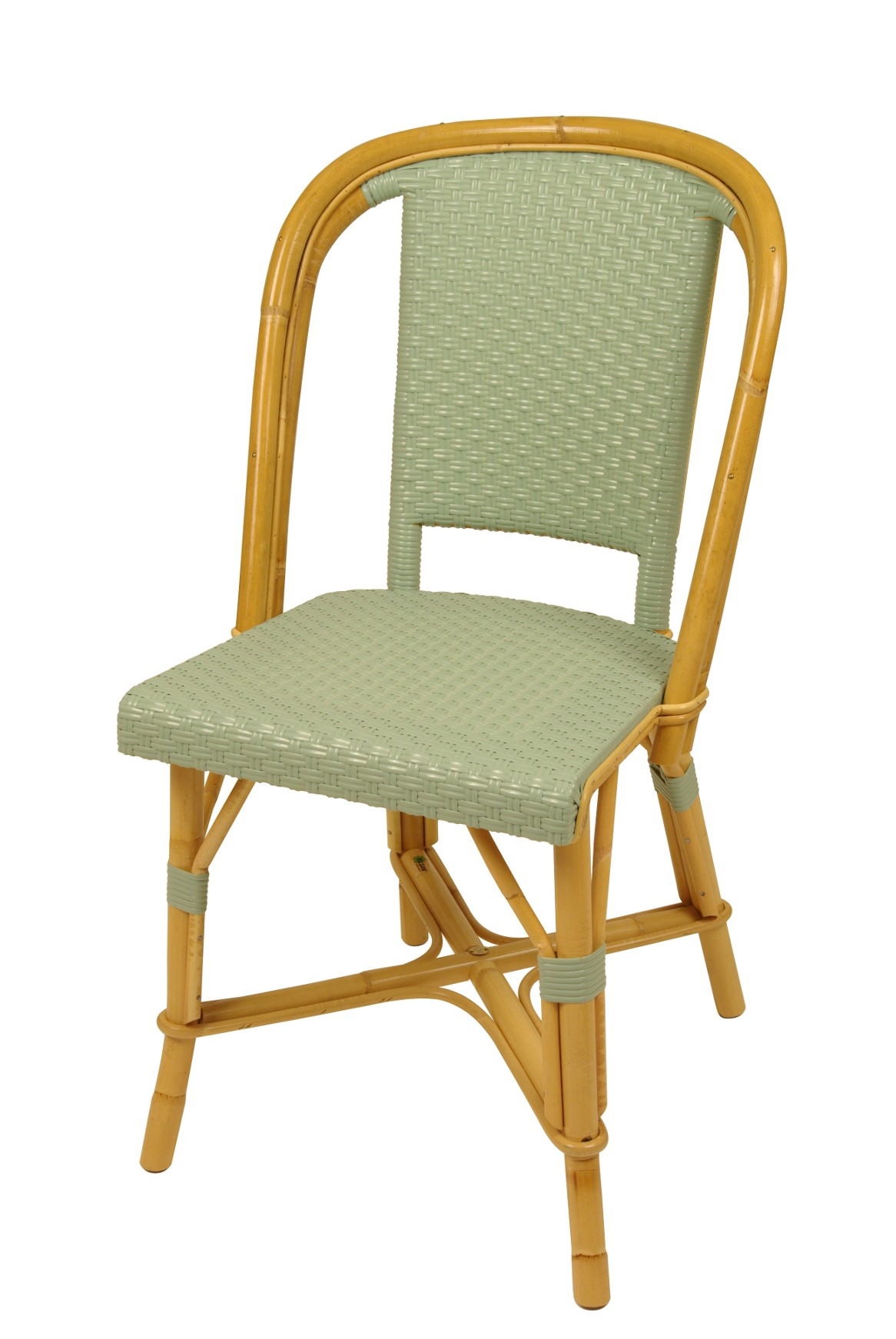 chaise drucker vert d 39 eau. Black Bedroom Furniture Sets. Home Design Ideas