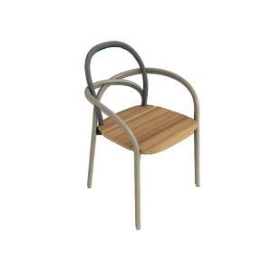 chaise les arcs de unopiu 39 caf. Black Bedroom Furniture Sets. Home Design Ideas