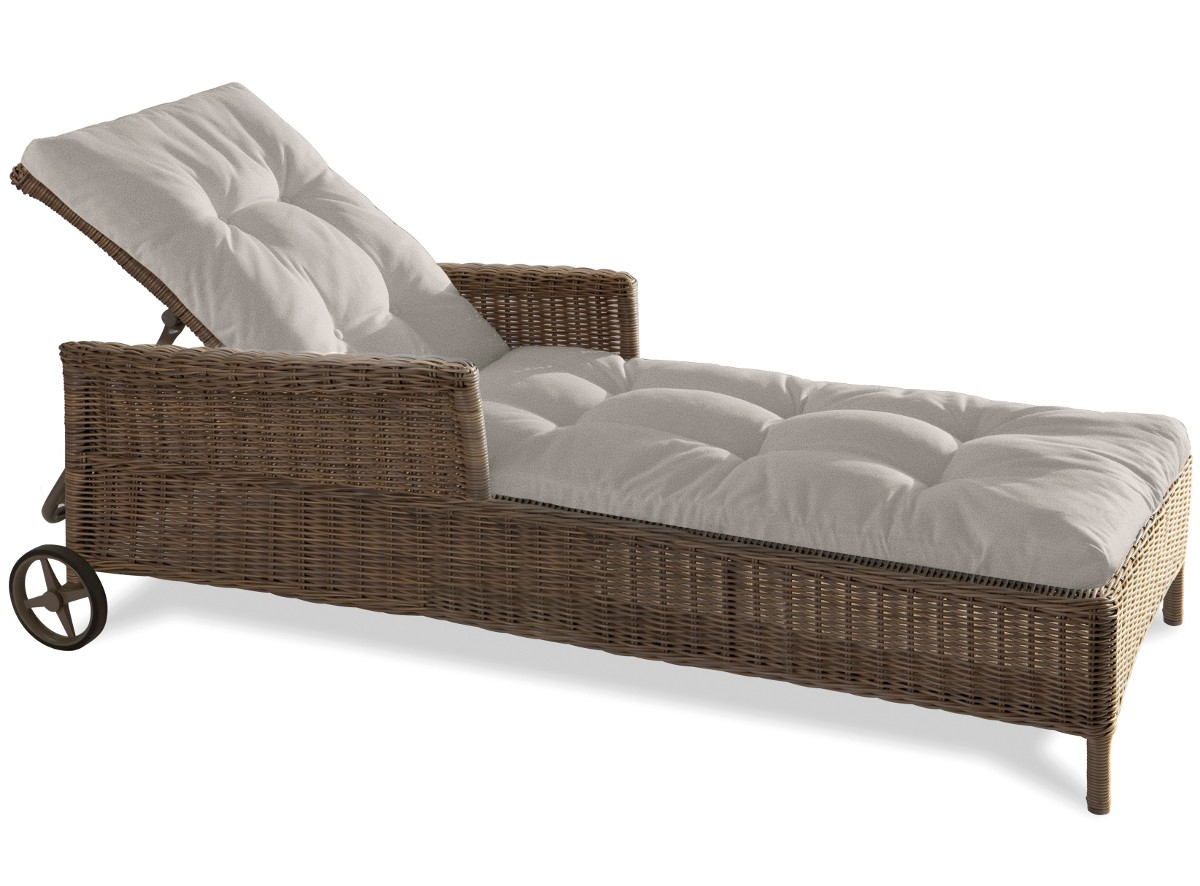 matelas de chaise longue 2 chaise longue beaumont de manutti ukbix. Black Bedroom Furniture Sets. Home Design Ideas