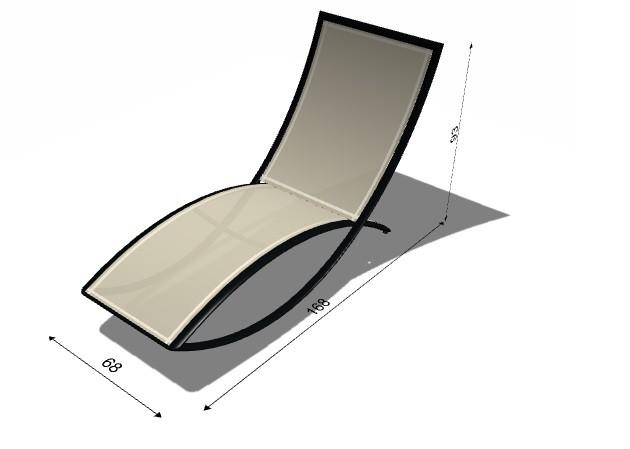 chaise longue fish premiere de ego paris 3 coloris. Black Bedroom Furniture Sets. Home Design Ideas