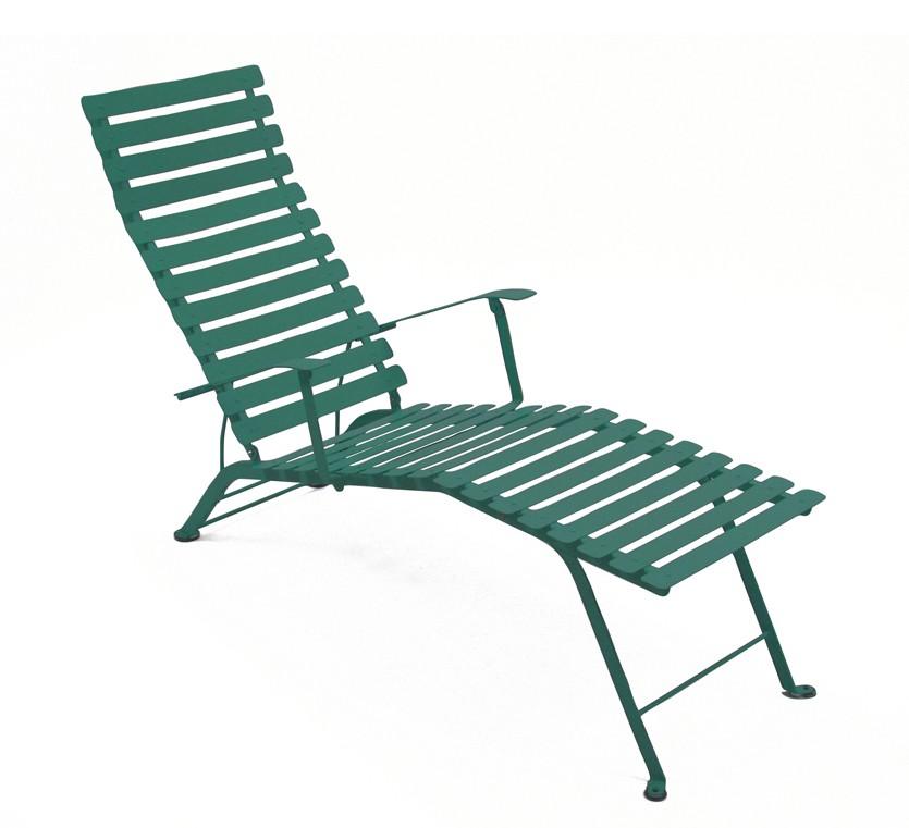 chaise longue pliante bistro de fermob c dre. Black Bedroom Furniture Sets. Home Design Ideas