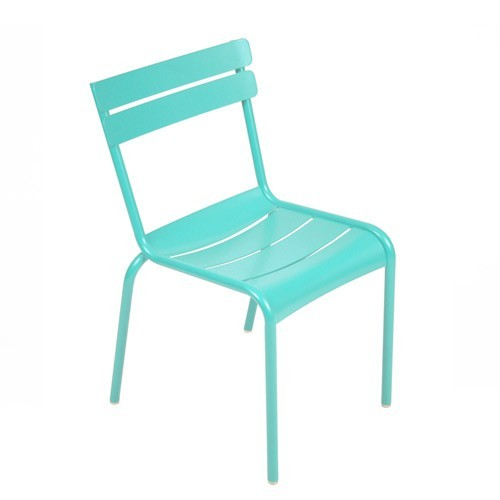 Chaise luxembourg de fermob bleu lagune Chaises luxembourg