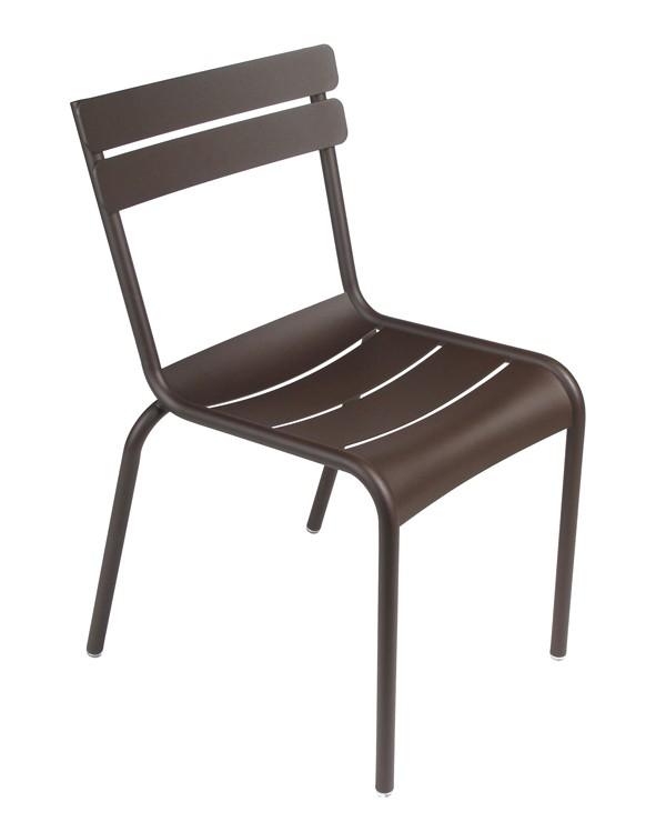 chaise luxembourg de fermob rouille. Black Bedroom Furniture Sets. Home Design Ideas