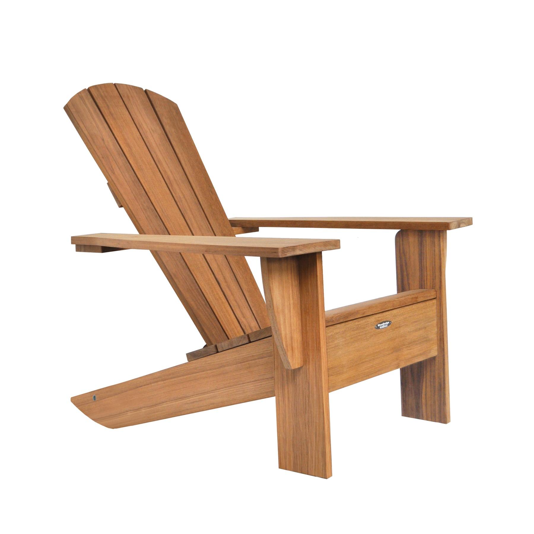 Coussin Pour Fauteuil Adirondack chaise new-england de royal botania, teck