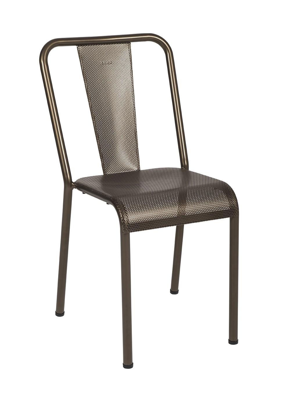 TolixBronze Chaise Perforée De Mat T37 xoedrCWB