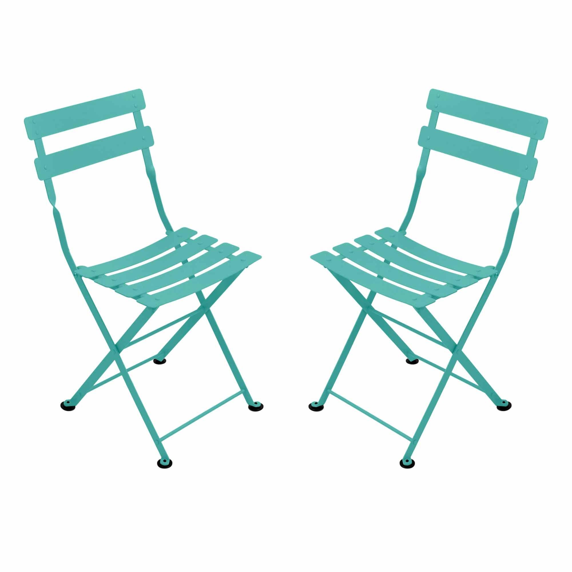 Chaise tom pouce de fermob bleu lagune - Fermob tom pouce ...