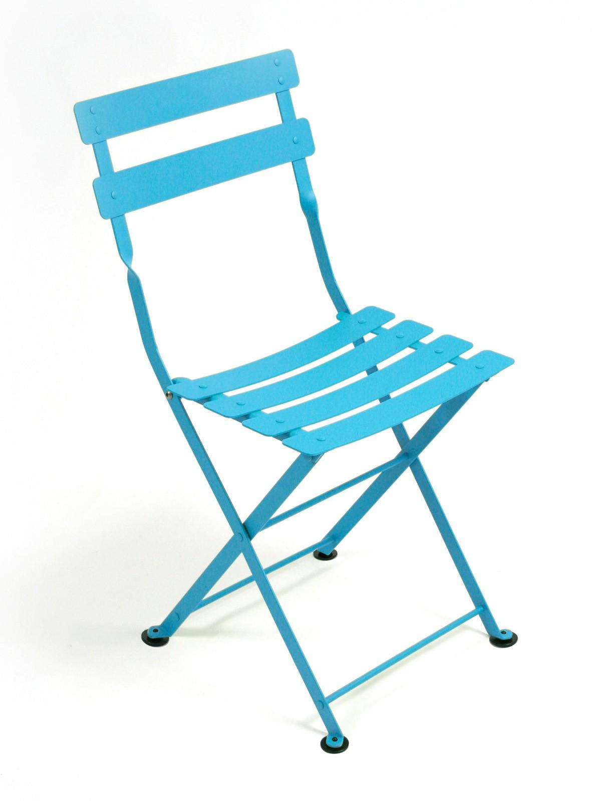 Chaise tom pouce de fermob bleu turquoise - Fermob tom pouce ...