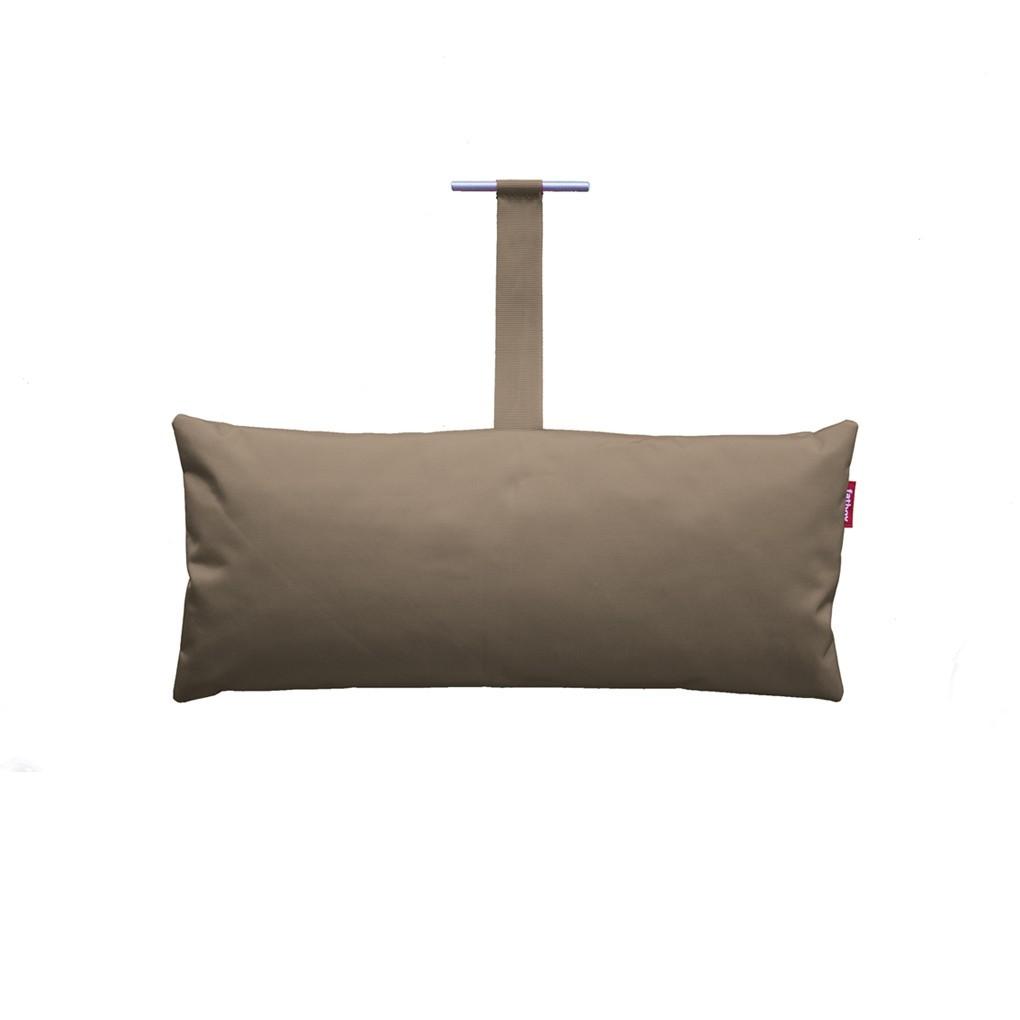 coussin headdemock de fatboy taupe. Black Bedroom Furniture Sets. Home Design Ideas