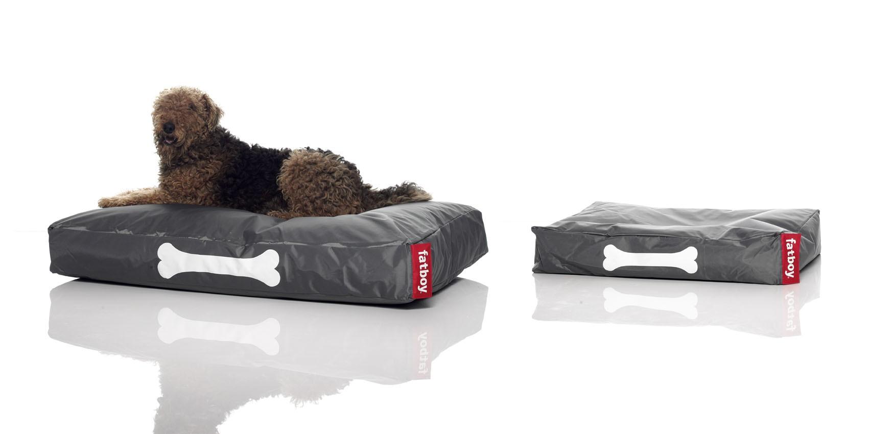 Grand Coussin Pour Exterieur coussin pour chien doggielounge de fatboy, grand modèle, gris foncé