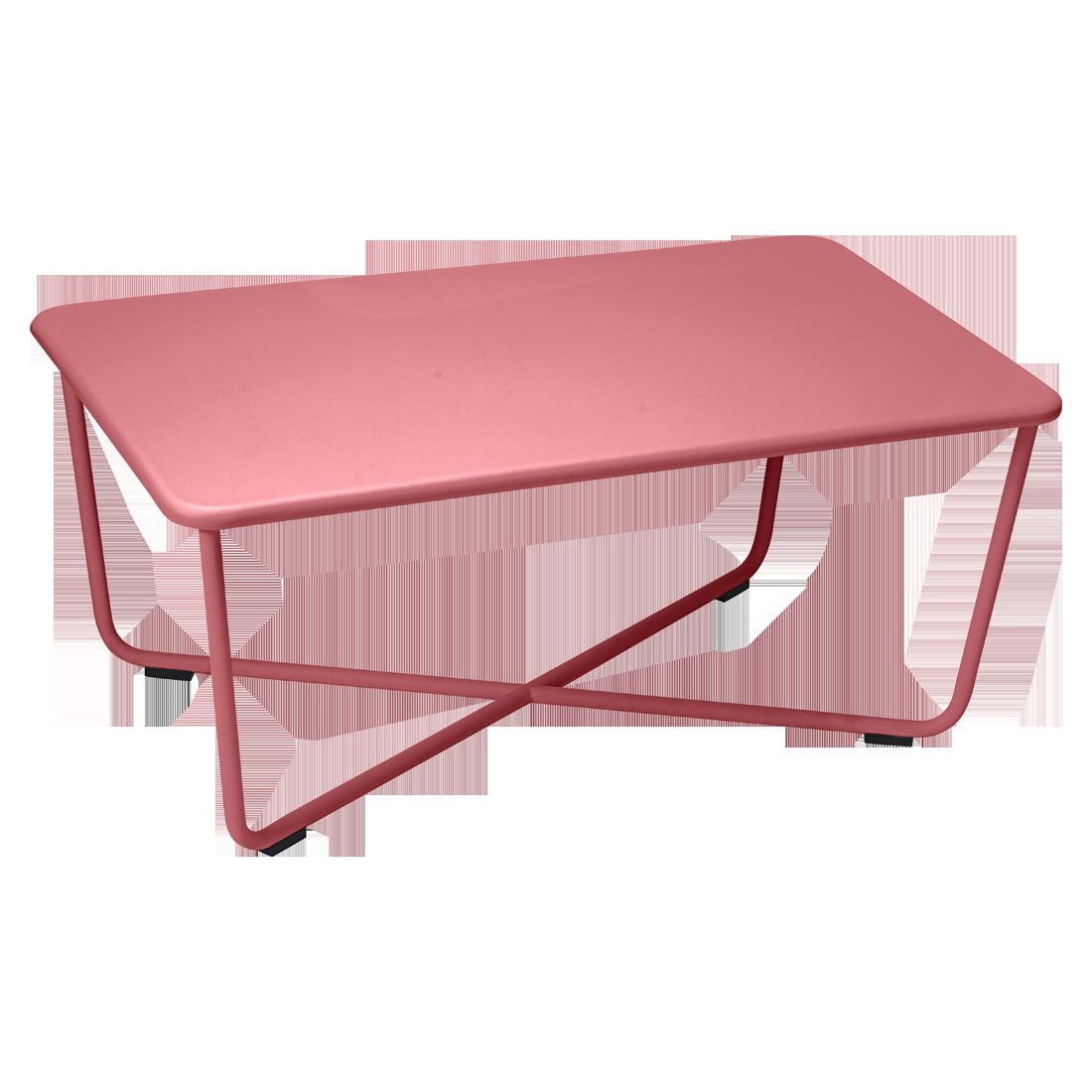 table basse croisette de fermob piment. Black Bedroom Furniture Sets. Home Design Ideas