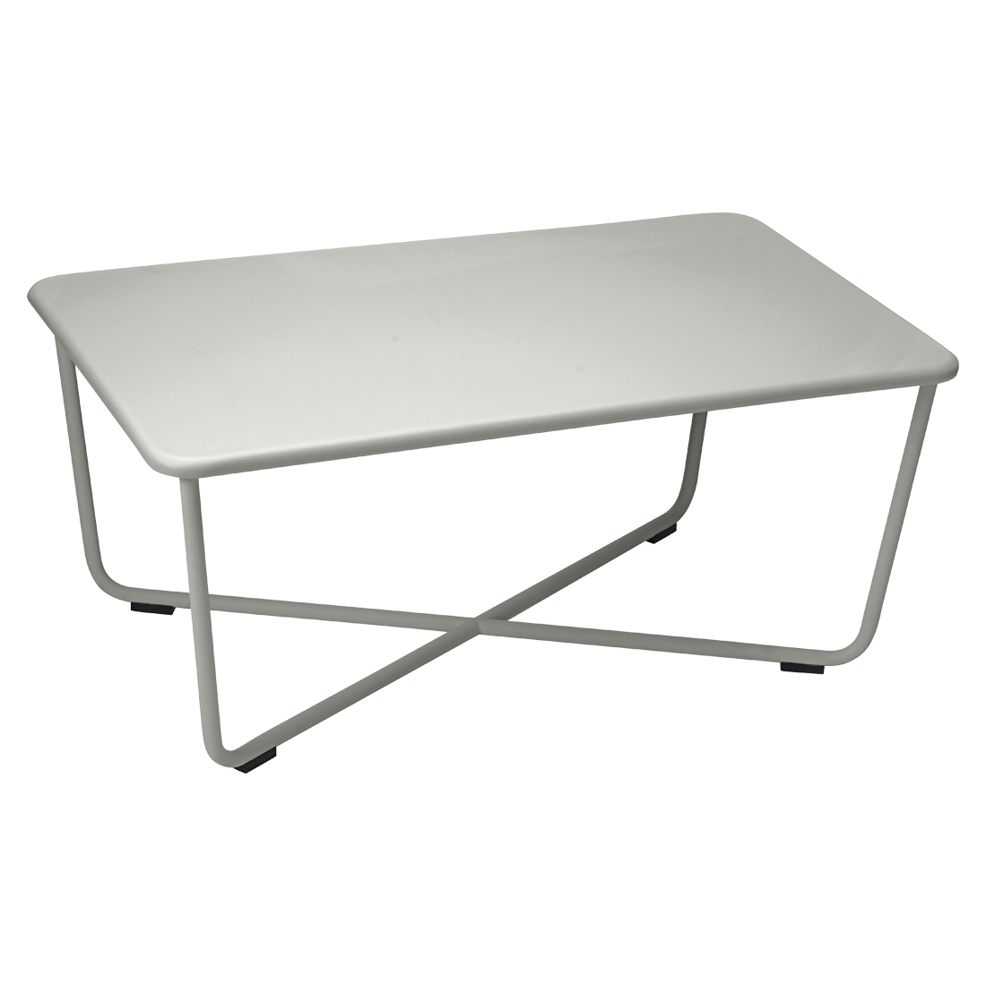 Table basse croisette de fermob romarin - Table basse fermob ...
