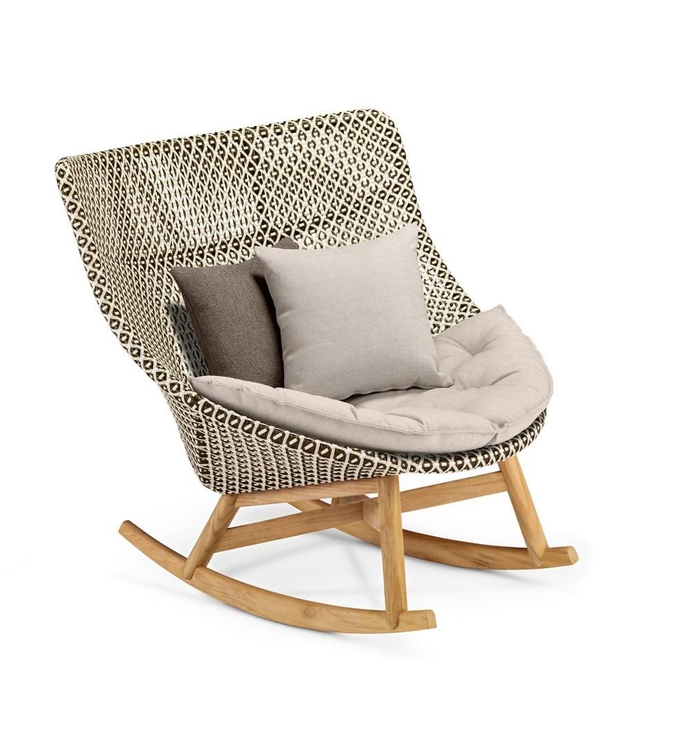Rocking Chair Mbrace De Dedon 3 Coloris