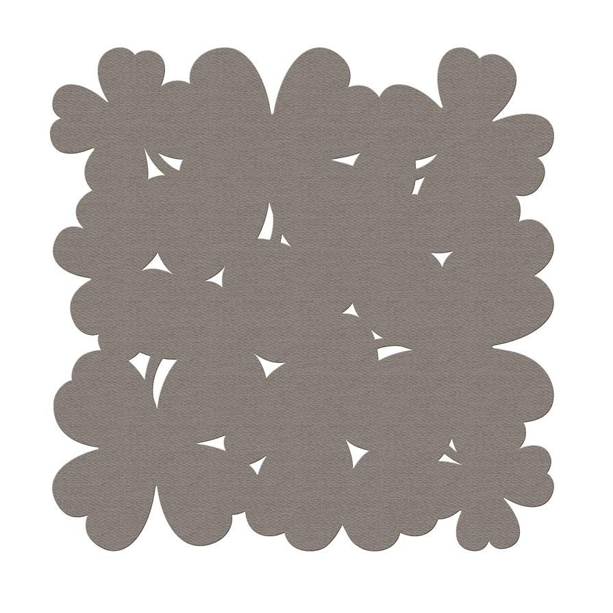 tapis trefle 200 x 200 de fermob 2 coloris. Black Bedroom Furniture Sets. Home Design Ideas