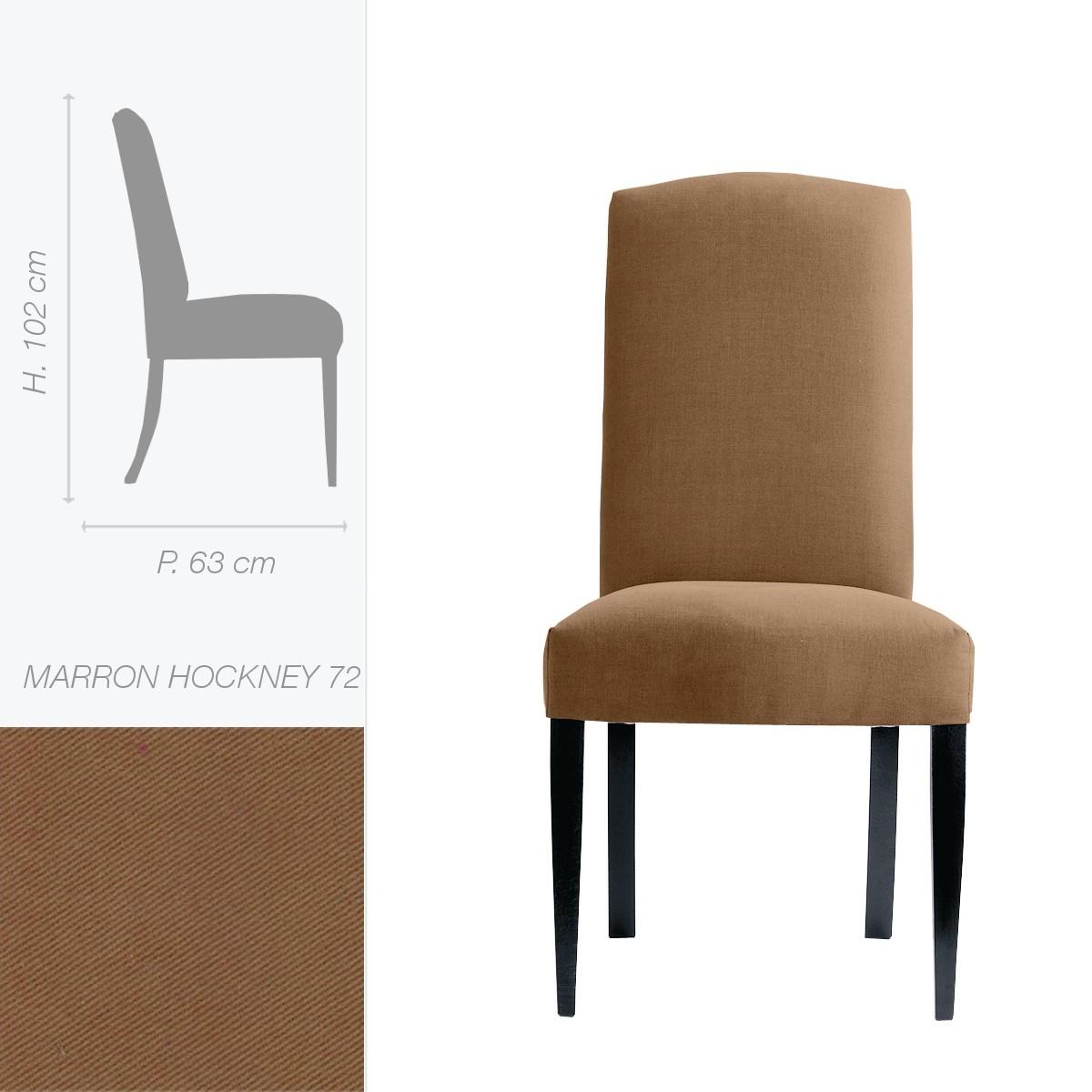 Marie 39 s corner chaise eaton c tissu personnalisable for Habillage de chaise en tissus