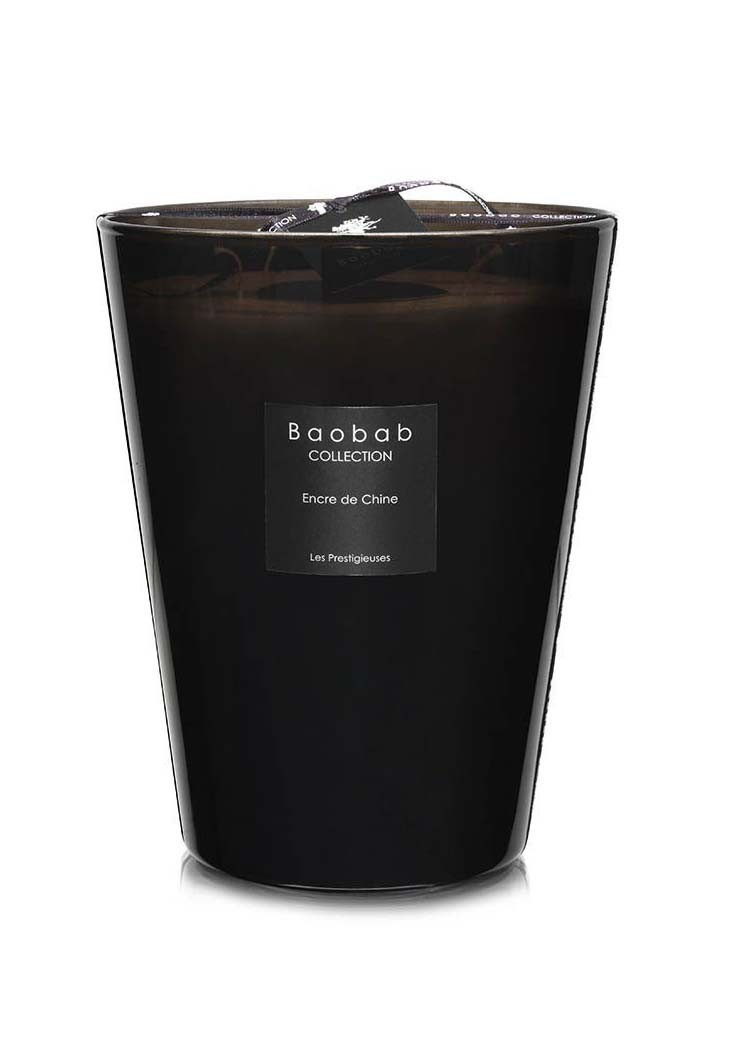 bougie max 24 encre de chine de baobab collection. Black Bedroom Furniture Sets. Home Design Ideas