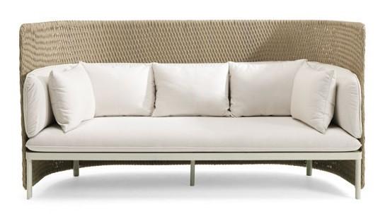 canap 3 places dossier haut esedra de ethimo 2 options. Black Bedroom Furniture Sets. Home Design Ideas