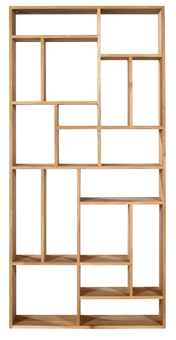 m tag re en ch ne d 39 ethnicraft tag re ouverte. Black Bedroom Furniture Sets. Home Design Ideas