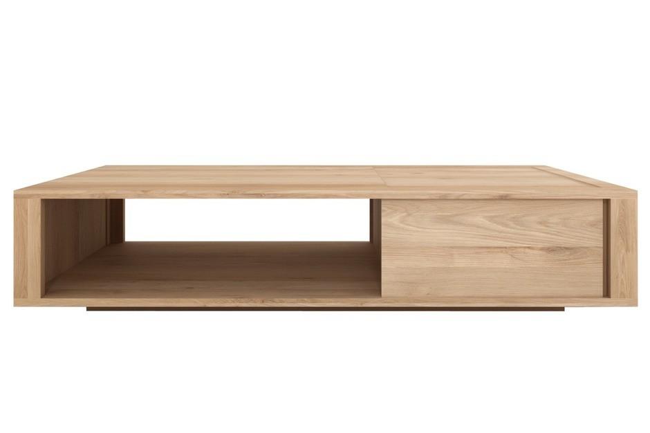 table basse oak nordic d 39 ethnicraft 1 tiroir 1 tiroir. Black Bedroom Furniture Sets. Home Design Ideas