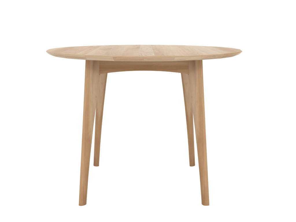 Table ronde haute osso d 39 ethnicraft 2 coloris for Table haute ronde