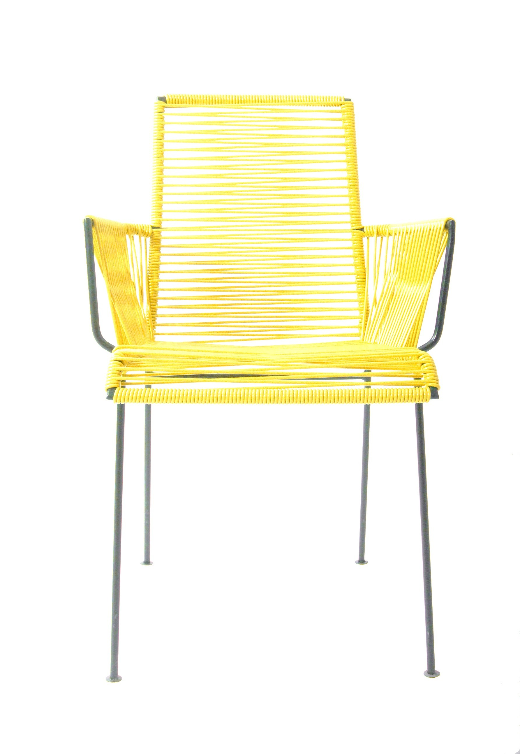 chaise mazunte cocoon de boqa avec structure noir jaune moutarde. Black Bedroom Furniture Sets. Home Design Ideas