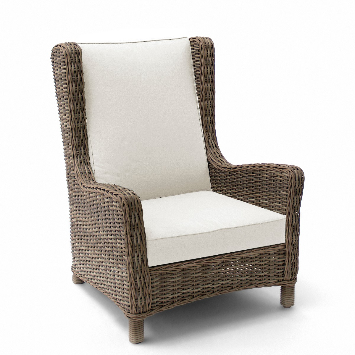 fauteuil bergre san diego de manutti old grey - Fauteuil Bergere