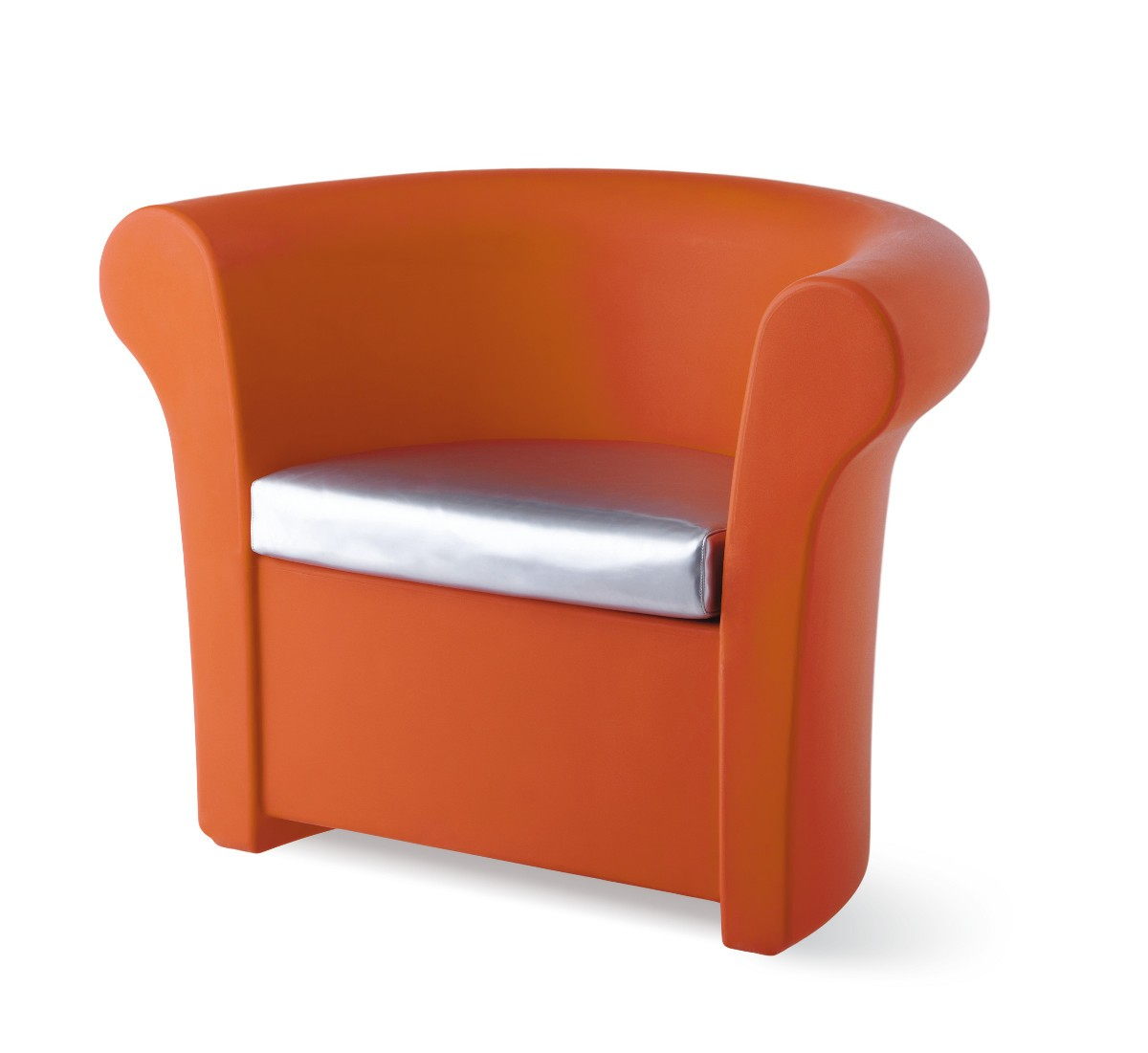 fauteuil kalla de slide orange. Black Bedroom Furniture Sets. Home Design Ideas
