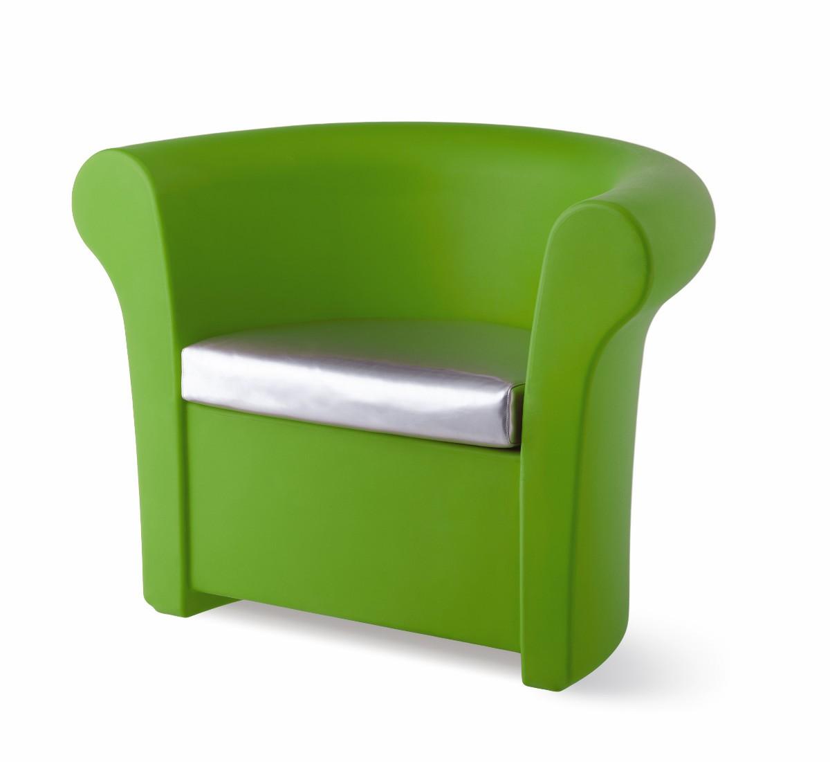 Fauteuil KALLA de Slide Vert Lime